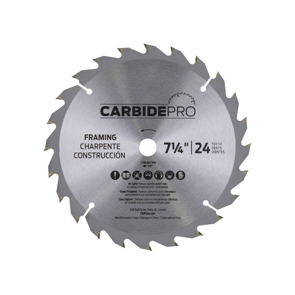 Saw blades carbide pro 7 stay sharp eab tool company keyboard keysfo Choice Image