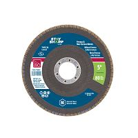 "5"" x 80 Grit x 7/8""  Wood & Metal Flap Disc - Type 29  Industrial Abrasive"