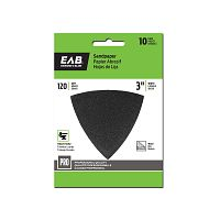 "3"" x 120 Grit Sandpaper (10 Pack)  Professional Oscillating Accessory"
